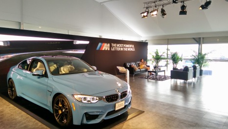 BMW M4 in Yas Marina